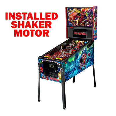 Stern Deadpool Premium Pinball Machine with Shaker