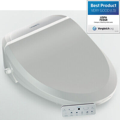 Dusch-WC Elektronischer Hygiene Toilettensitz Popodusche + Fernbedienung, 7035RS