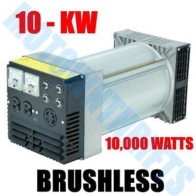 Heavy-duty 10kw Generator Head Brushless Belt-driven 3600 Rpm 1 Phase 120v240v