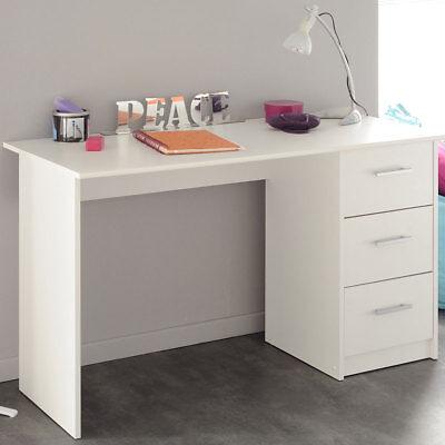 Schreibtisch Infinity Jugendzimmer Computertisch Kinderschreibtisch in weiß