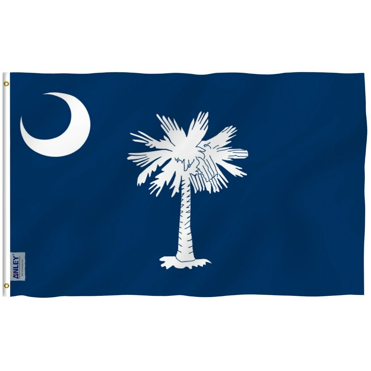 Anley 3x5 Foot South Carolina State Polyester Flag South Car