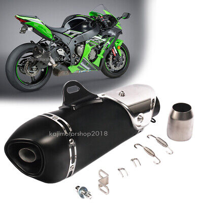 51mm Motorcycle Exhaust Tail Muffler Pipe Slip-on For CBR1000RR YZF-R6V GSX-S750