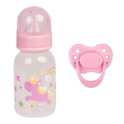 Reborn Doll Accessories Magnetic Dummy Pacifier & Feeding Bottle Dolls Supplies