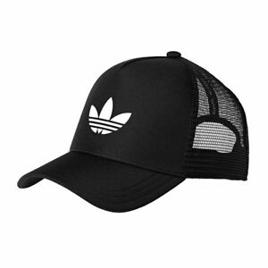 Adidas Originals Cap Hat Black White Trefoil Trucker Mesh Baseball Winter  Sale 33c1b741d3a