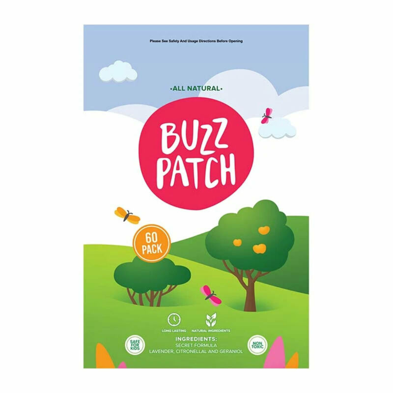 Buzz Patch Mosquito Repellent Patches - 60 Pack