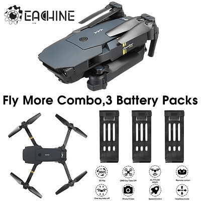 Eachine E58 WIFI FPV 2MP HD Camera High Hold Foldable Arm Drone Quadcopter