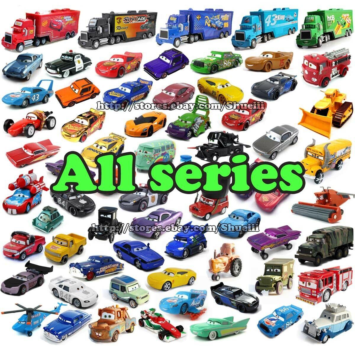Mattel Disney Pixar Cars Lot Lightning McQueen 155 Diecast Model Cars Toy Gift