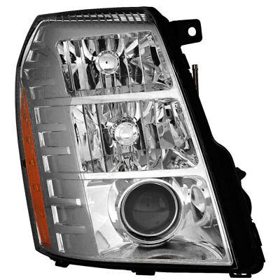 HID Headlight Assembly w/Bulb Right Passenger Side for 10-14 Cadillac (Cadillac Escalade Headlight Assembly)