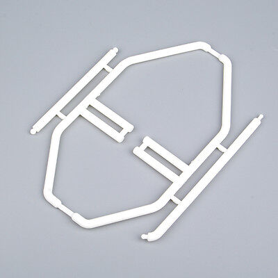 Car Body Interior Roll Cage Boom Racing Wing Mount White For RC 1/10 Model Car
