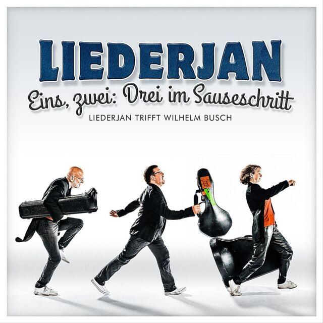 LIEDERJAN - EINS,ZWEI:DREI IM SAUSESCHRITT  CD NEU