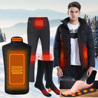 Winter Warmer Electric Heated Vest Jacket Coat Trousers Socks Heating Clothing