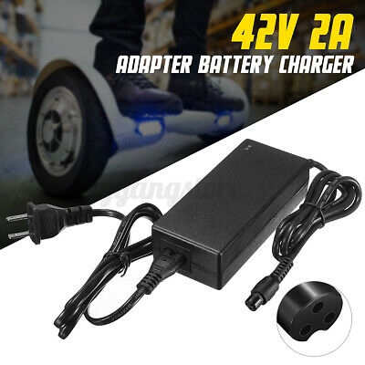 42V Power Adapter Battery Charger For Smart Balance Electric Scooter Wheelbarrow