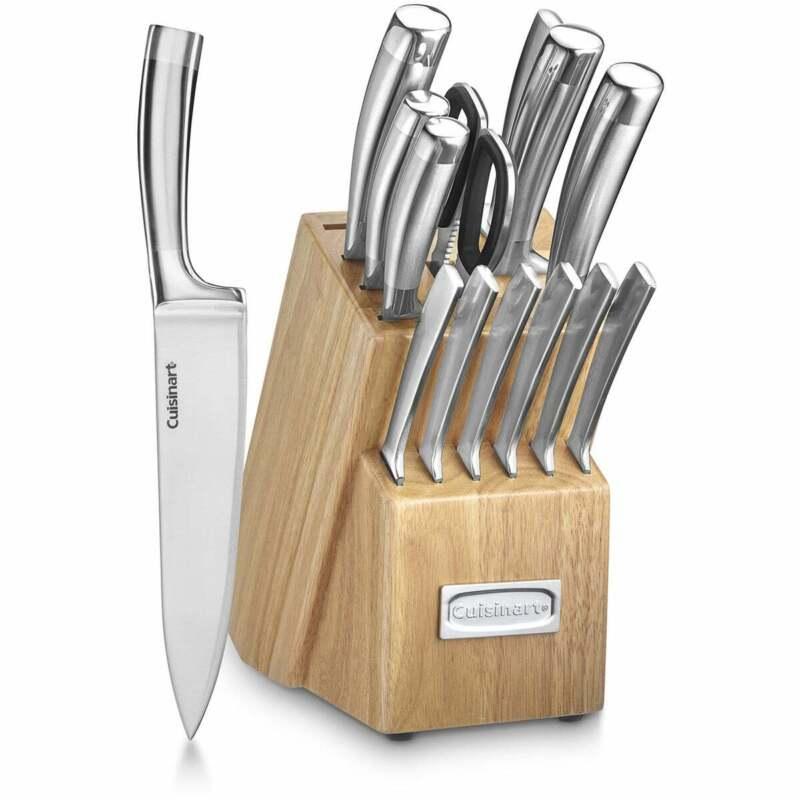 Cuisinart Classic 15-Piece Cutlery Set with Block