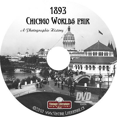 1893 Chicago Worlds Fair - A Pictorial History on DVD