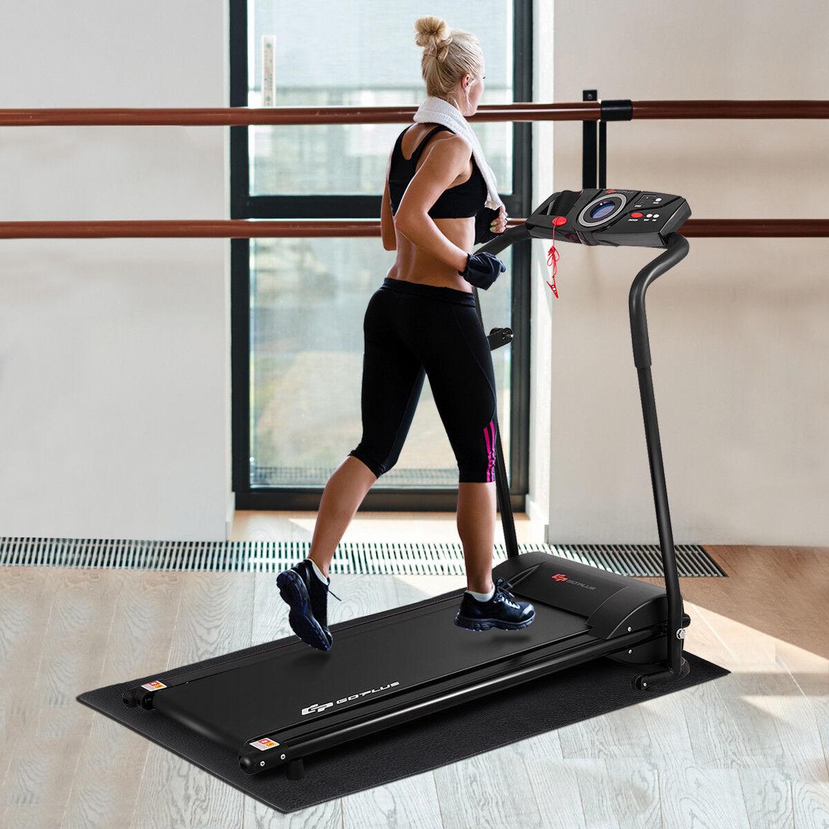 Bodenschutzmatte für Fitnessgeräte Bodenmatte Unterlegmatte Multifunktionsmatte