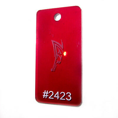 1 Red 2423 12x12x116 Thin Acrylic Sheet Plastic Plexiglass Craft Supplies