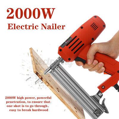 Elektrotacker Elektrisch 1800W Nagelpistole Nägel Tacker Nagler  *DE