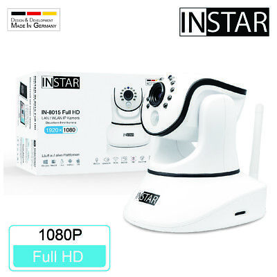 Original INSTAR IN-8015 Full-HD IP-Kamera / Überwachungskamera / Webcam / IP-Cam