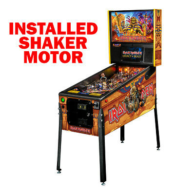 Stern Iron Maiden Premium Pinball Machine with Shaker Motor