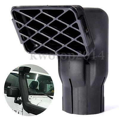 """Universal Fit Off Road Replacement Mudding Snorkel Head Air Intake Ram 3"""" inlet"""