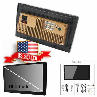 "10.1"" Ultra Thin 2DIN Android 8.1 Car Stereo WiFi GPS Nav Radio Video 1+16G US !"