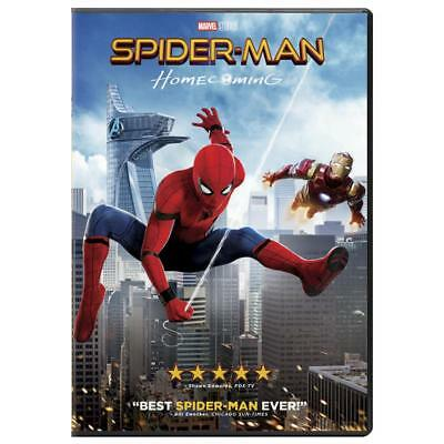 Spider-Man: Homecoming (DVD, 2017) NEW