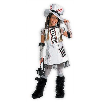D/ceptions 2 Punk Rock Monster Bride of Frankenstein Child Costume Disguise - Rock Monster Kostüm