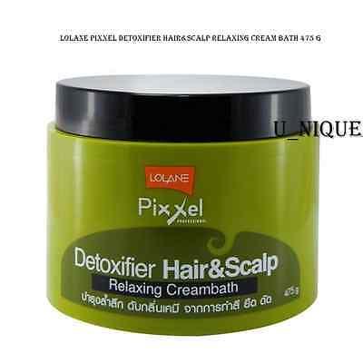 Lolane Pixxel Detoxifier Hair&scalp Relaxing Cream Bath 475