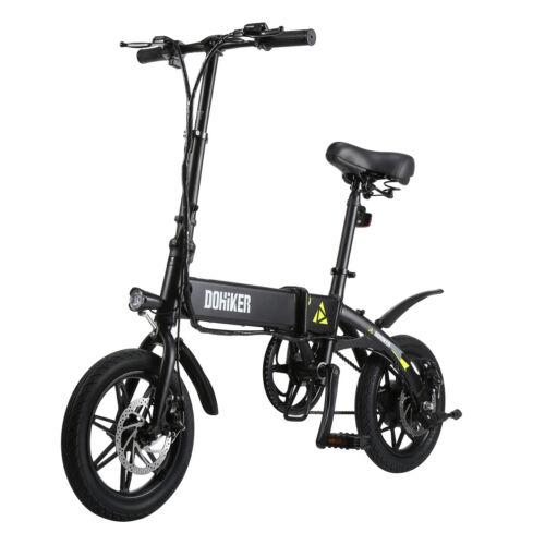 14 Zoll Elektrofahrrad Klapprad EBike City Bike Pedelec Faltbar Li-Akku 25km/h