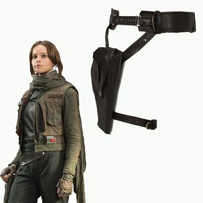 Jyn Erso Belt Gun Holster Star Wars Cosplay Costume Prop Rogue One High Quality - Gun Holster Costume