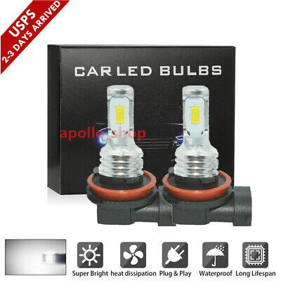 H11 LED Fog Lights H8 H9 H16 35W Bulbs Conversion Headlight Kits 6000K HID Lamps