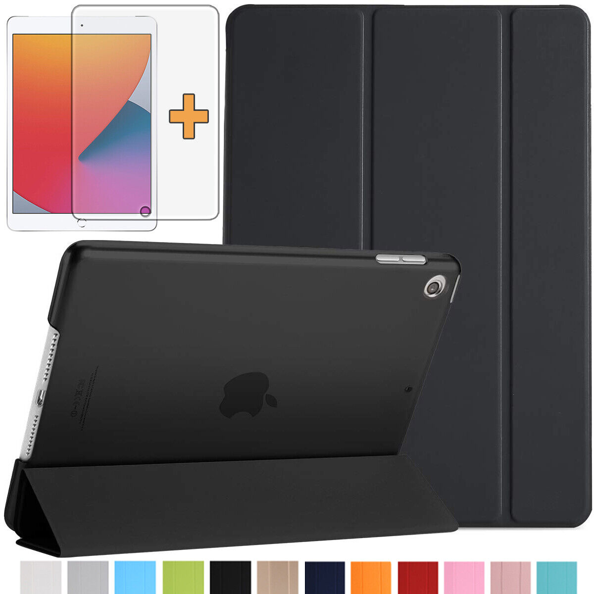 Smart Cover iPad 10.2 2020 (8.Gen) / 2019 (7.Gen) Schutzhülle Case +Folie -3
