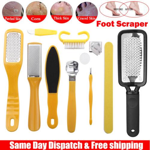 Profession Pedicure Kit Rasp Foot File Callus Remover Scraper Nail Care Tool SET
