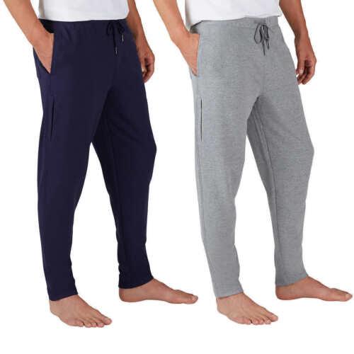 Eddie Bauer Mens 2-pack Sweatpants Tapered Jogger Lounge Sweat Pants Variety