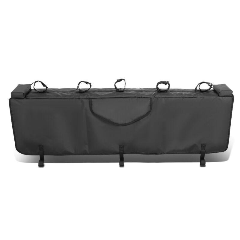 "Waterproof 53""W Pickup Truck Bed Tailgate Crash Pad Protector Cover w/Bike Racks"