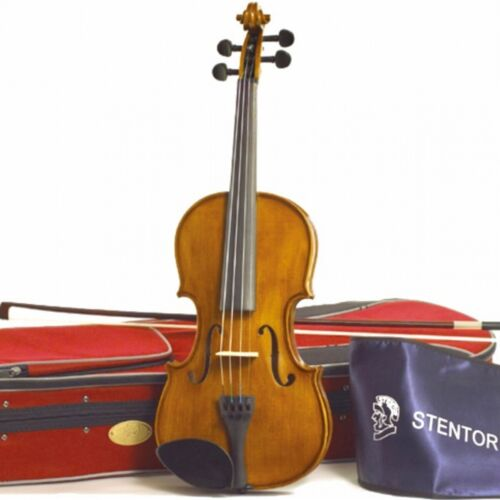 Stentor Student 2 4/4 Violin Outfit with case and bow and Rosin