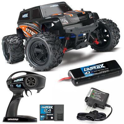 Traxxas 76054-5 LaTrax Teton 1/18 Monster Truck 4WD RTR Orange w/ 2.4GHz Radio