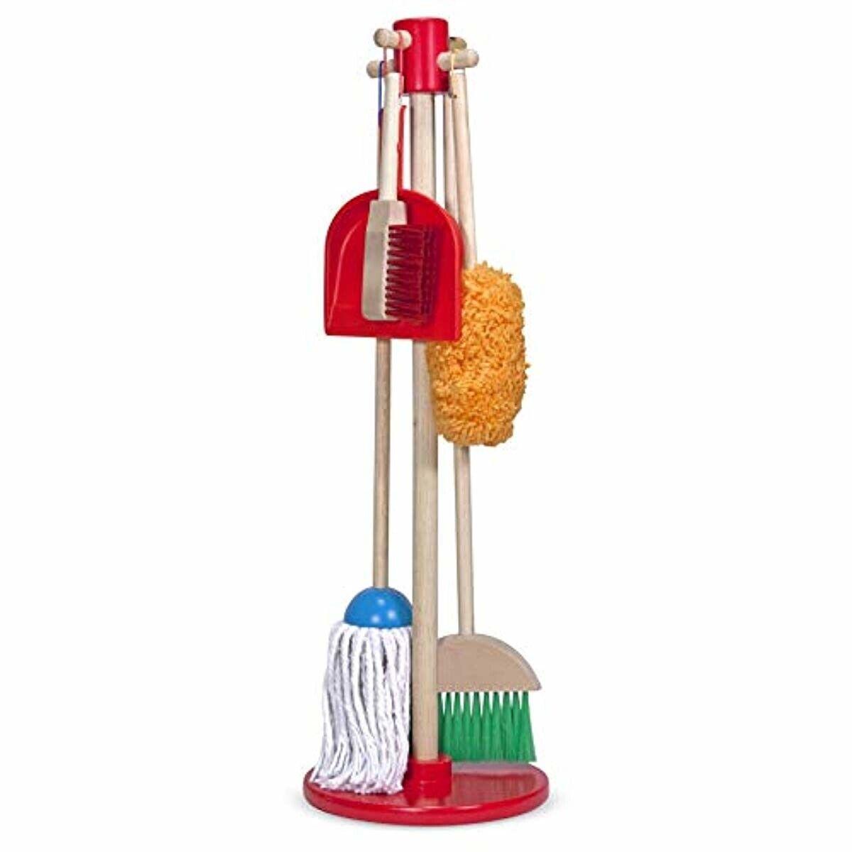 cleaning kit for children kids broom dust