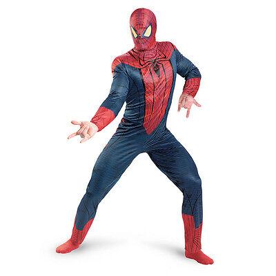 Amazing Spider-Man 2012 Movie Adult Costume Disguise 42497 - Amazing Spider Man Costume Adults