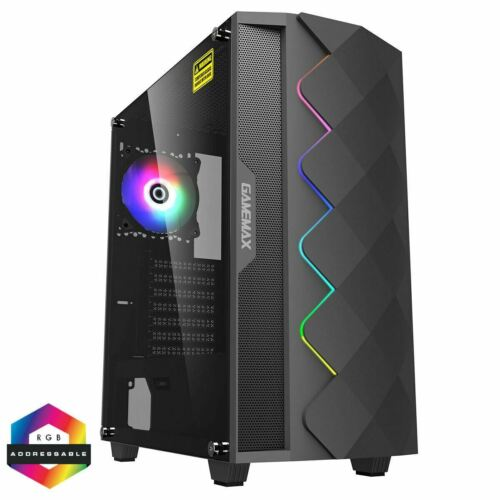 Computer Games - Merker SAVAGE Gaming Computer Desktop PC