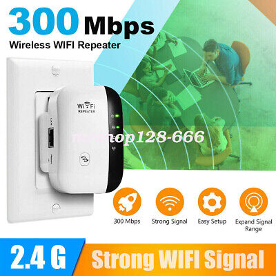WiFi Blast Repeater Wireless Wi-Fi Range Extender 300Mbps WifiBlast Amplifier