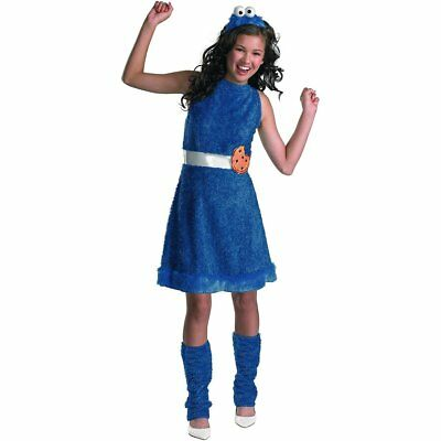 Sesame Street Cookie Monster Teen Girls Costume | Disguise 11482 (Cookie Girl Costume)