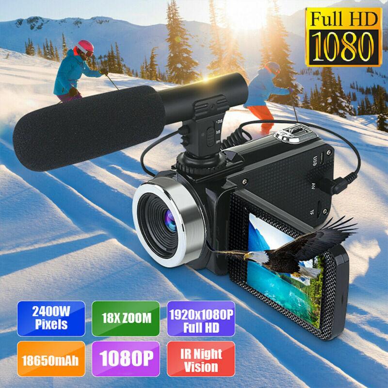 Mini Full 1080P 24MP 18X Zoom 3