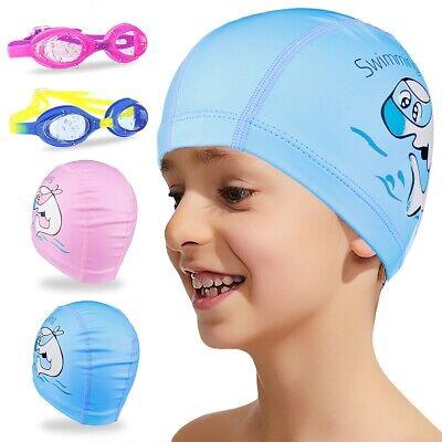 For Boys Girls Youth Kids Swim Goggles Anti-Fog UV Lens No Leaking + PU Swim (Goggles For Boys)