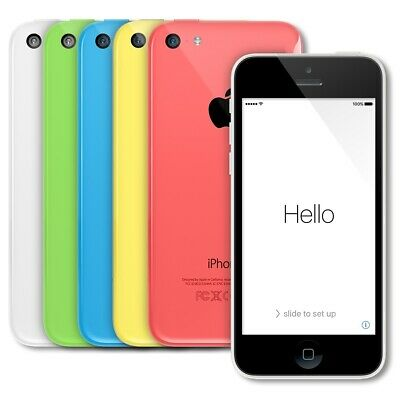 Apple iPhone 5C 32GB Yellow Green Blue Pink White - Unlocked | Excellent A-Grade](iphone 5 32gb white unlocked)