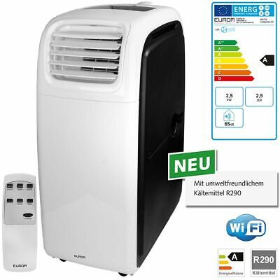 Eurom Coolperfect 90 WiFi Raumklimagerät 2,5 kW mobile Klimaanlage 380729