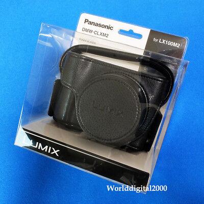 PANASONIC DMW-CLXM2 Genuine Camera Soft Case For DC-LX100M2 DC-LX100 II