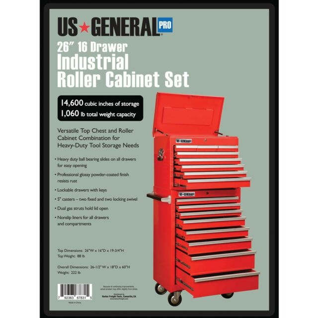 "harbor freight coupon off comp us general 26"" 16 drawer tool"