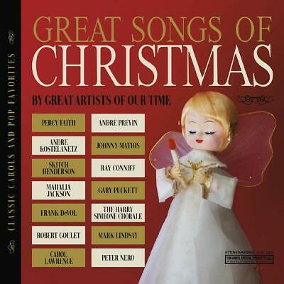 The Great Songs of Christmas Classic Carols and Pop CD ()