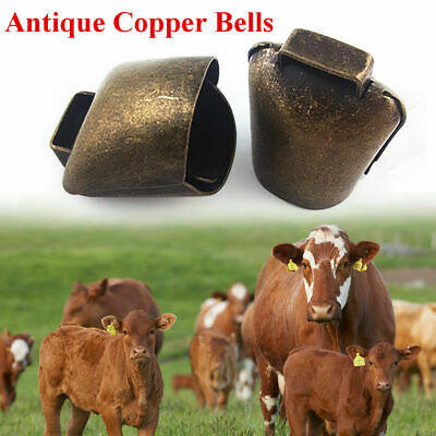 Cow Horse Sheep Grazing Copper Bells Cattle Farm Animal Copper Loud Brass Bell - Cow Bells